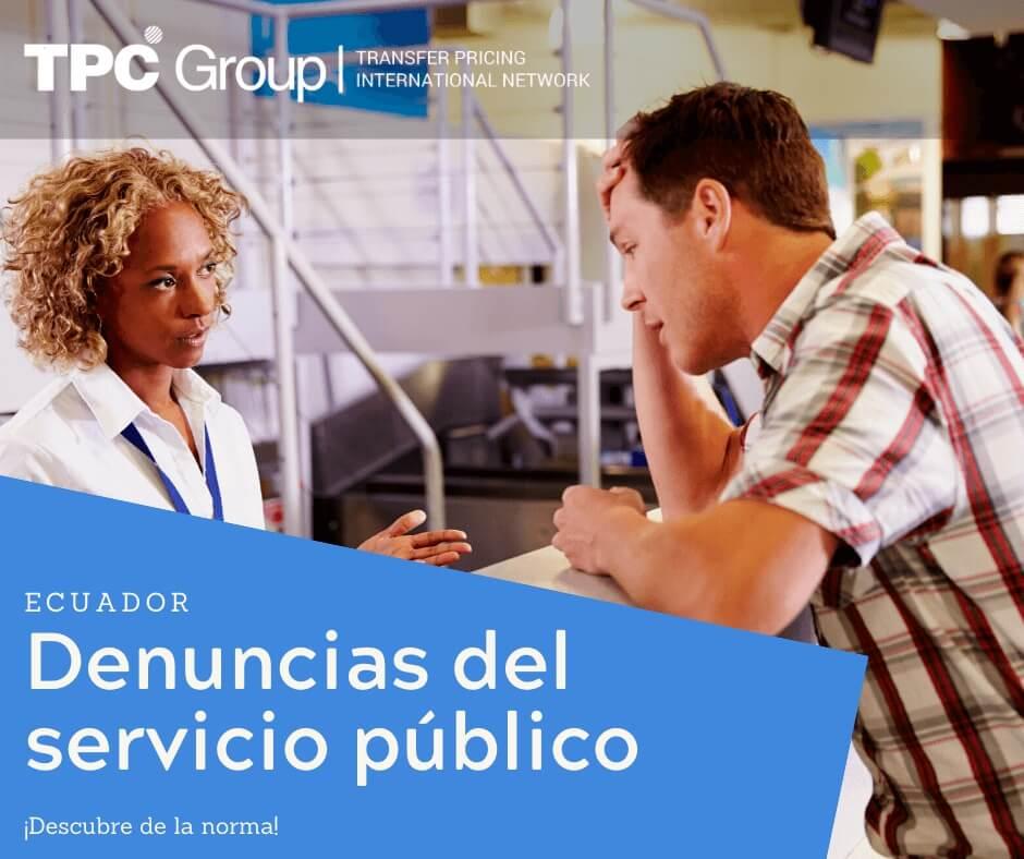 Denuncias del Servicio Público en Ecuador