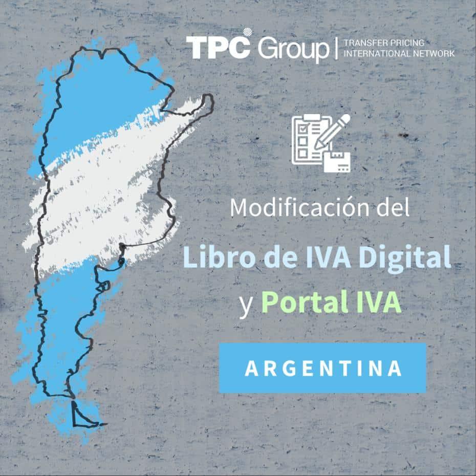 Modificación Del Libro De IVA Digital Y Portal IVA