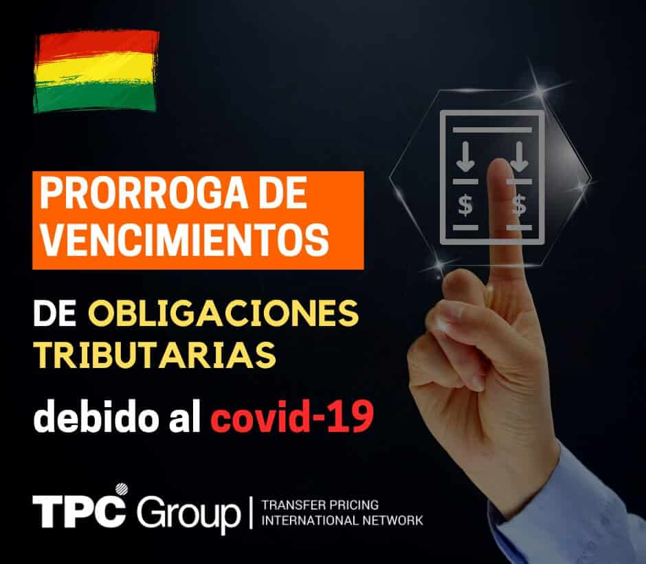 Prorroga de vencimientos de obligaciones tributarias en Bolivia