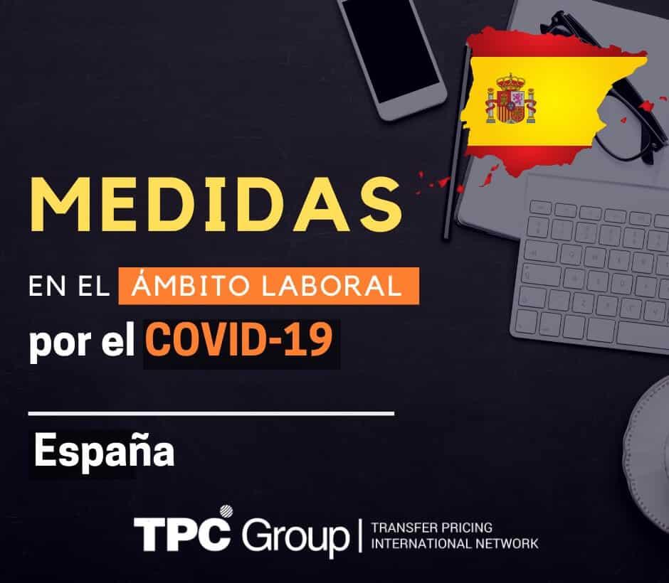 Medidas en el ambiente laboral por el covid19 1 en España