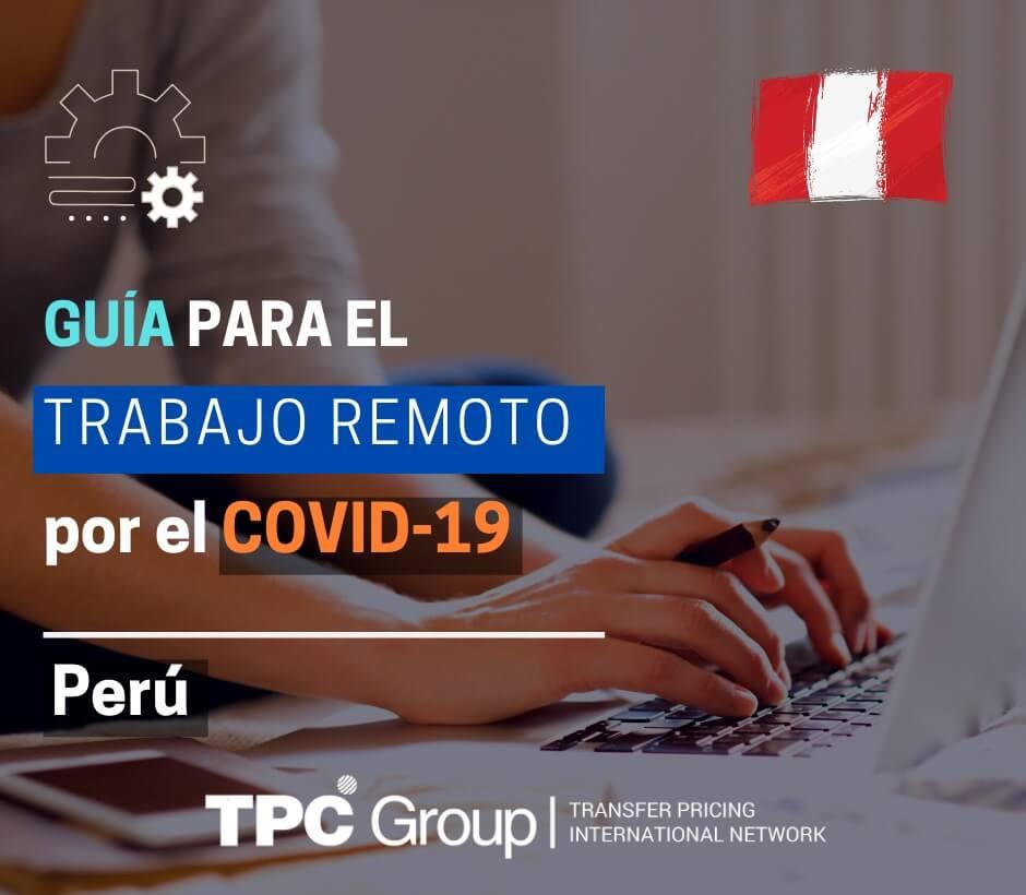 Guía para el trabajo remoto por el covid-19 en Perú
