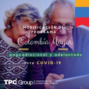 Modificación del Programa Colombia