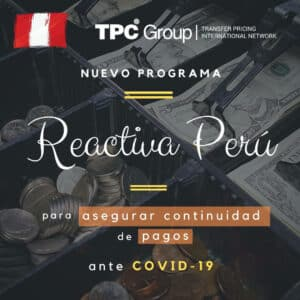 Nuevo Programa Reactiva Peru