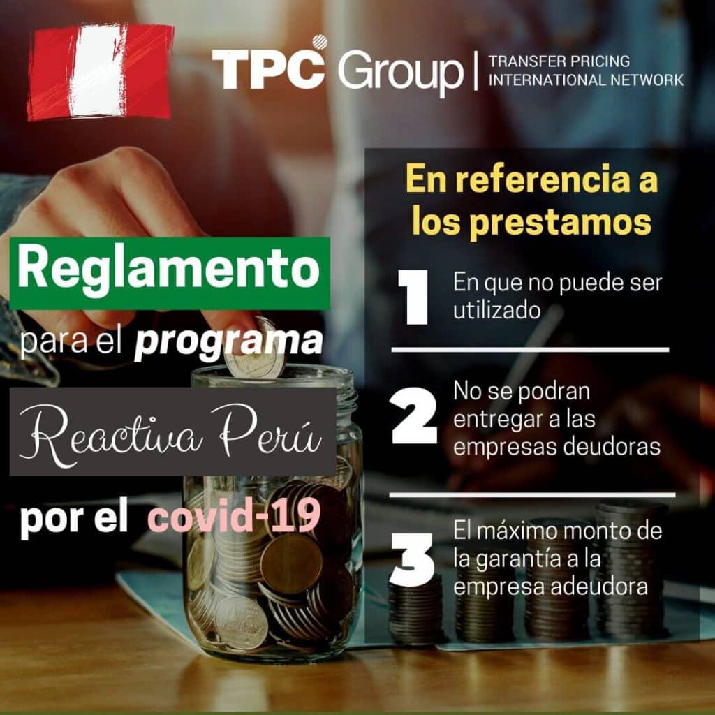 Reglamento de Reactiva Peru