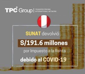 Sunat Devolvio 191.6 millones
