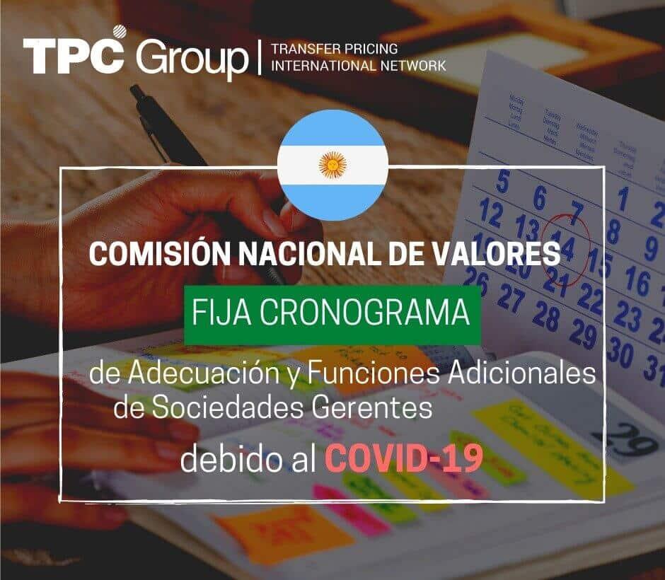 La Comisión Nacional De Valores Fija Cronograma De Adecuación Y Funciones Adicionales De Sociedades Gerentes