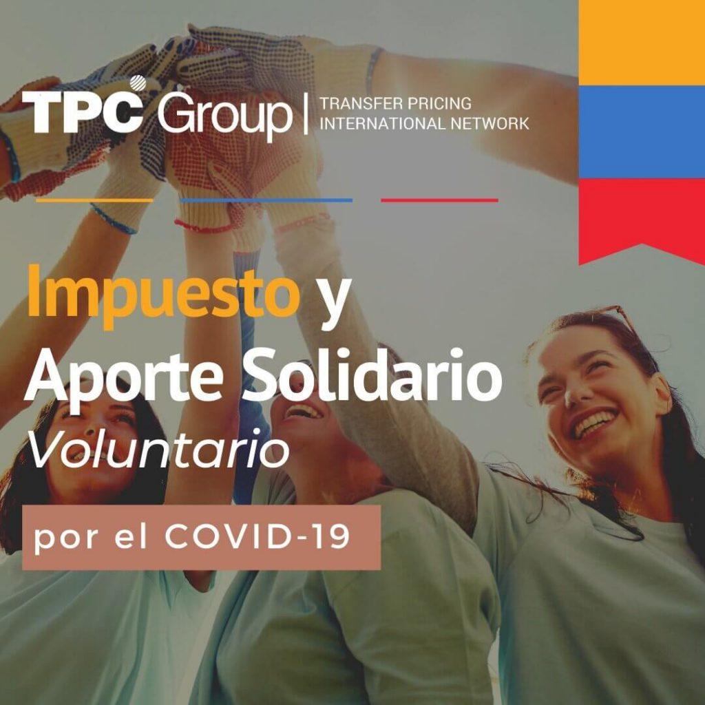 Impuesto solidario y aporte solidario voluntario por el covid-19