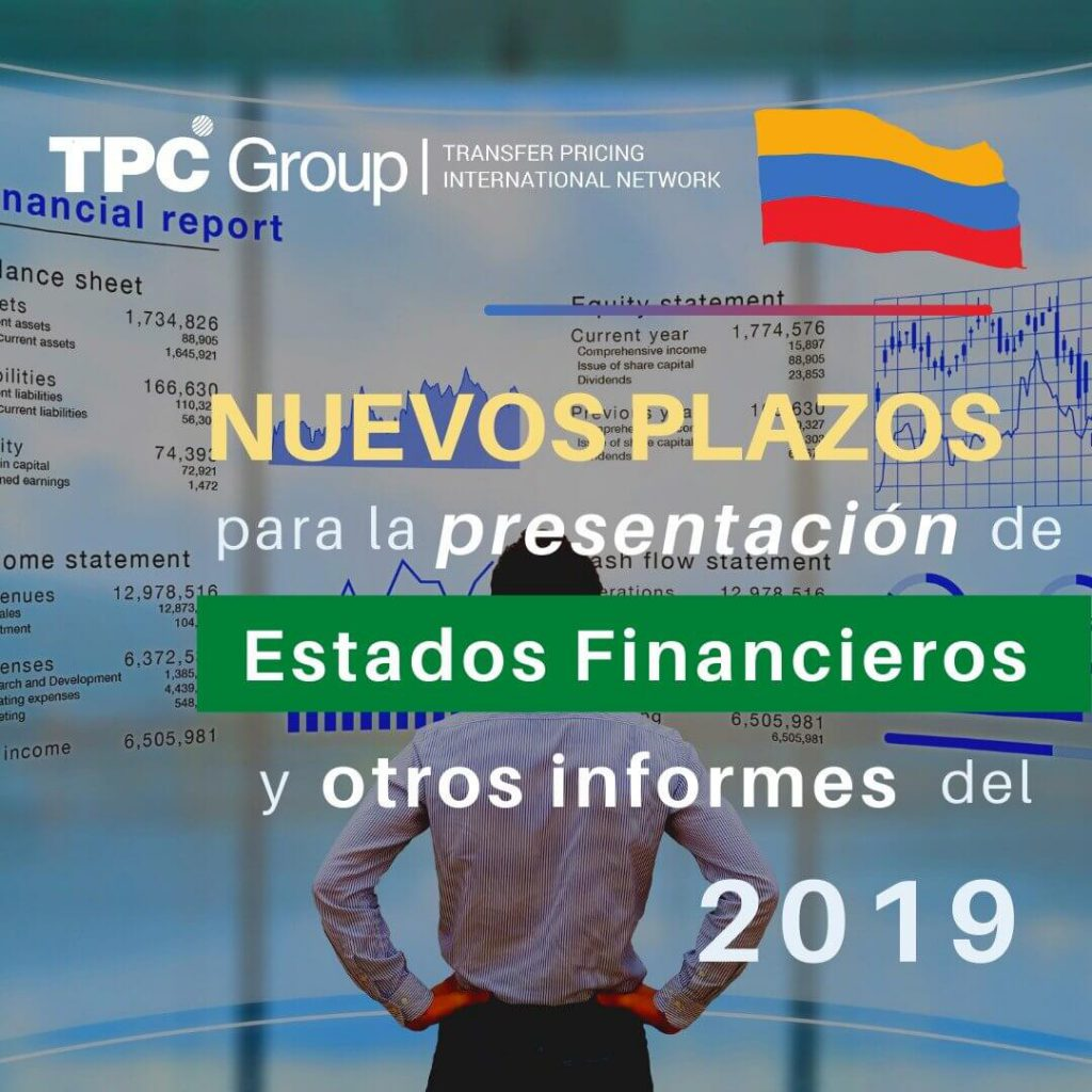 Nuevos plazos para la presentación de estados financieros y otros informes del año 2019