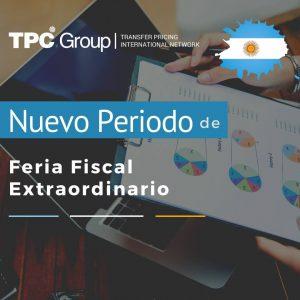 Nuevo periodo de feria fiscal extraordinario