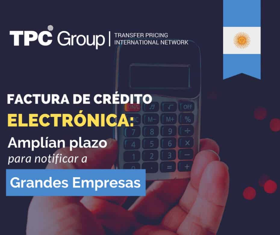 Especificación de facturas de crédito electrónicas en Argentina