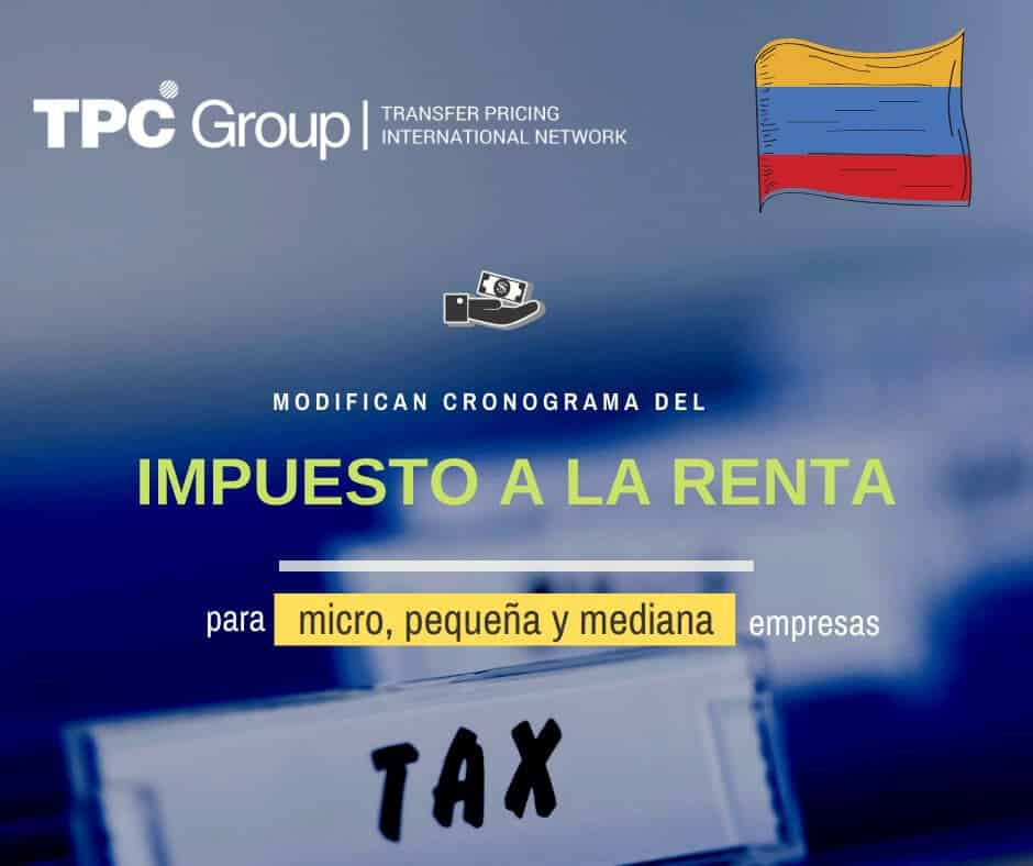 MODIFICAN CRONOGRAMA DE PAGO DE IMPUESTO A LA RENTA DEL 2019 PARA MICRO, PEQUEÑAS Y MEDIANAS EMPRESAS EN COLOMBIA