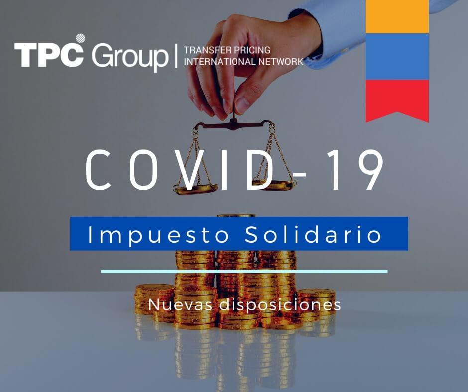 SE ESTABLECEN LINEAMIENTOS SOBRE EL IMPUESTO SOLIDARIO POR EL COVID-19 PARA LOS AGENTES RETENEDORES EN COLOMBIA