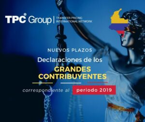 MODIFICAN PLAZOS PARA PRESENTAR DECLARACIONES DE LOS GRANDES CONTRIBUYENTES EN COLOMBIA
