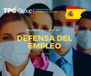 DICTAN MEDIDAS SOCIALES EN DEFENSA DEL EMPLEO EN ESPAÑA