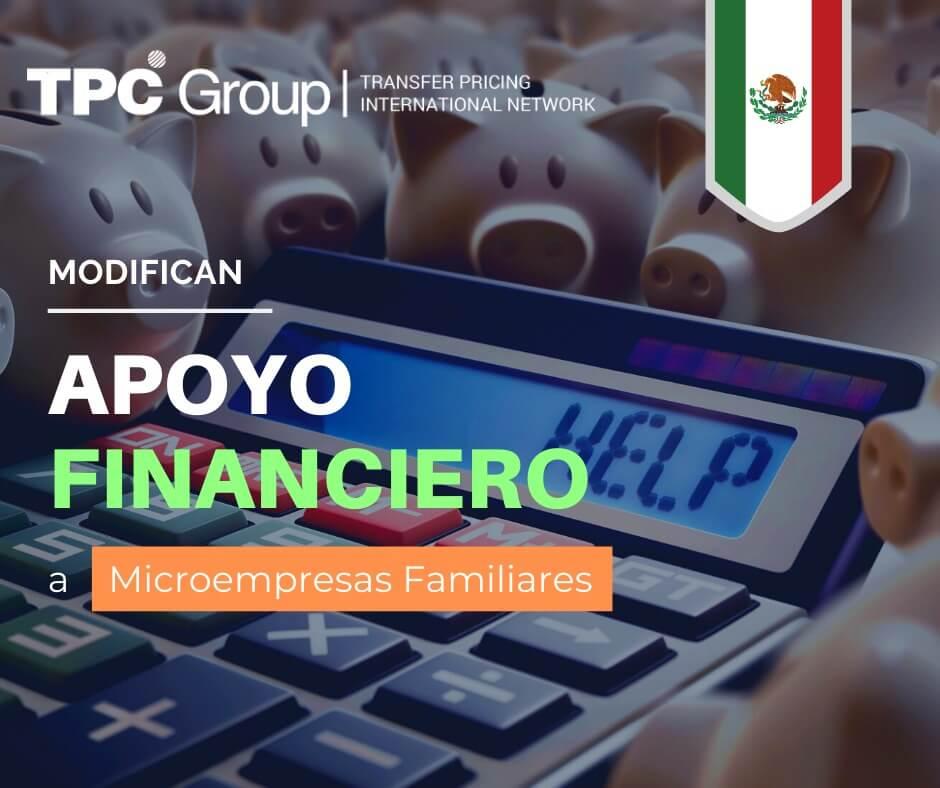 NUEVOS LINEAMIENTOS DEL PROGRAMA DE APOYO FINANCIERO A MICROEMPRESAS FAMILIARES EN MEXICO