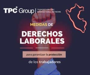 ESTABLECEN DIVERSAS MEDIDAS PARA GARANTIZAR Y FISCALIZAR LA PROTECCIÓN DE LOS DERECHOS SOCIO LABORALES
