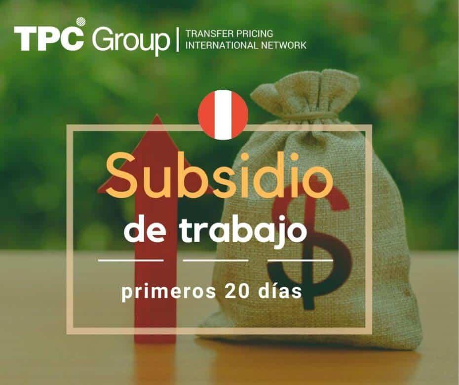 SUBSIDIO EXCEPCIONAL PARA TRABAJADORES DIAGNOSTICADOS CON COVID-19 EN PERÚ
