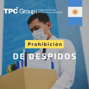 PROHIBICIÓN DE DESPIDOS EN ARGENTINA