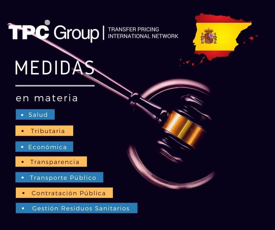 DICTAN MEDIDAS EN MATERIA DE CONTRATACIÓN PÚBLICA EN ESPAÑA