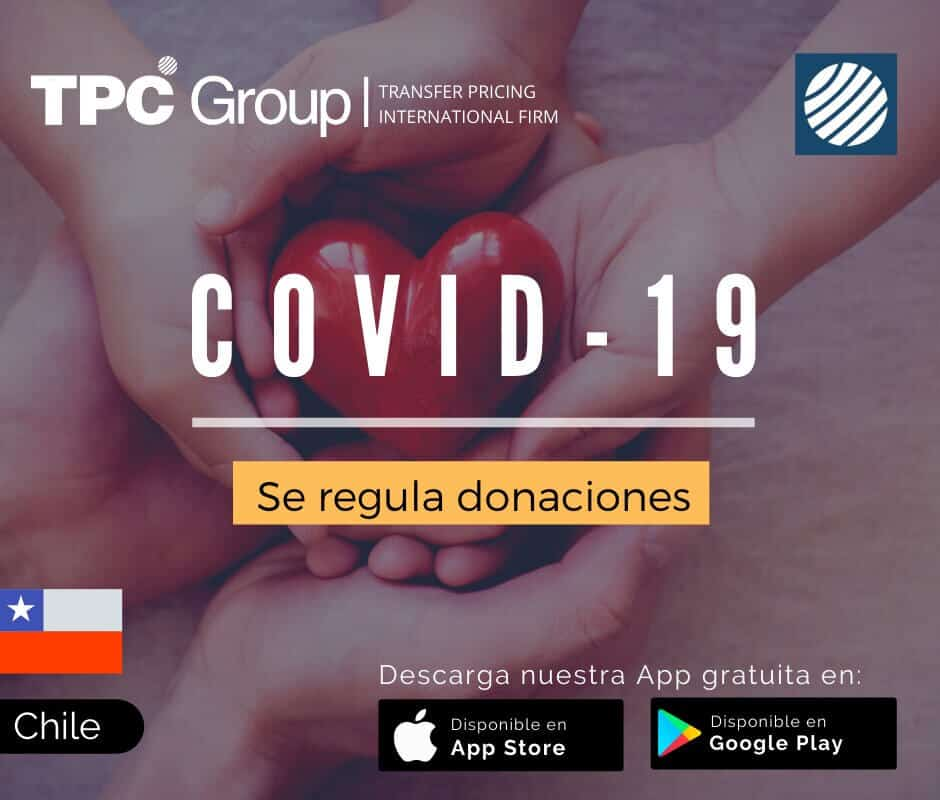 Se Regula Donaciones COVID