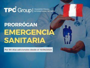 Prorrogan Emergencia Sanitaria
