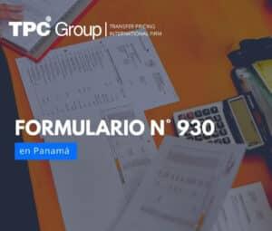 El formulario N°930 en Argentina