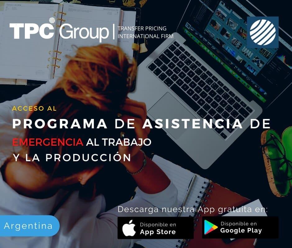 Acceso al programa de asistencia de emergencia al trabajo y la producción en Argentina