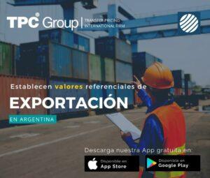 Establecen valores referenciales de exportación en Argentina