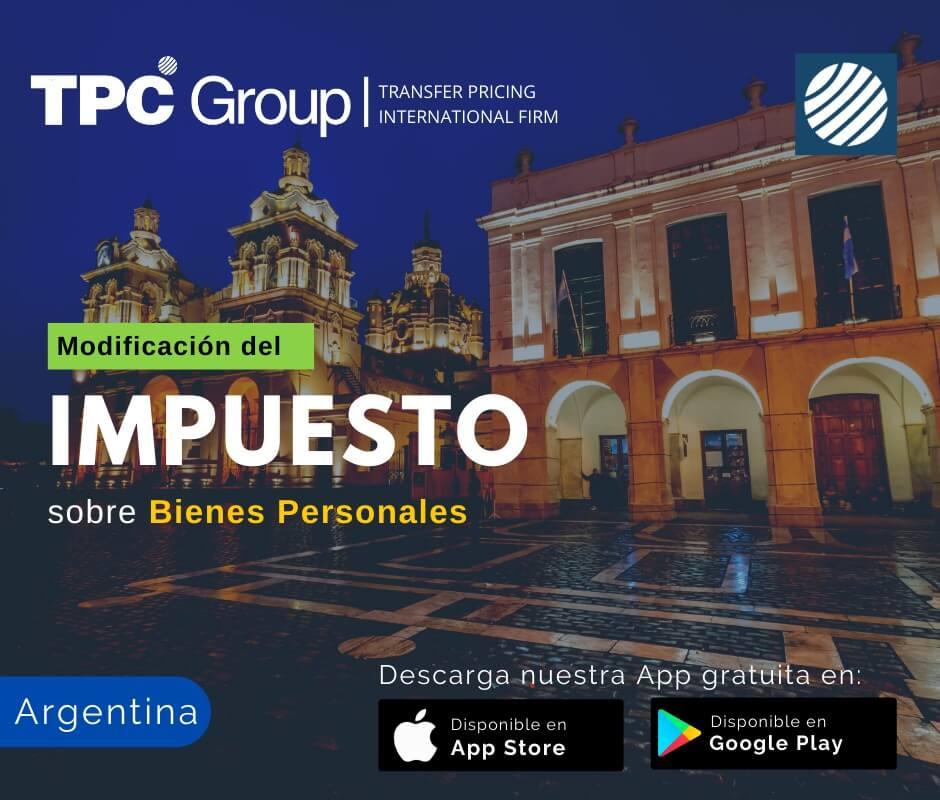Modificación del Impuesto sobre Bienes Personales en Argentina