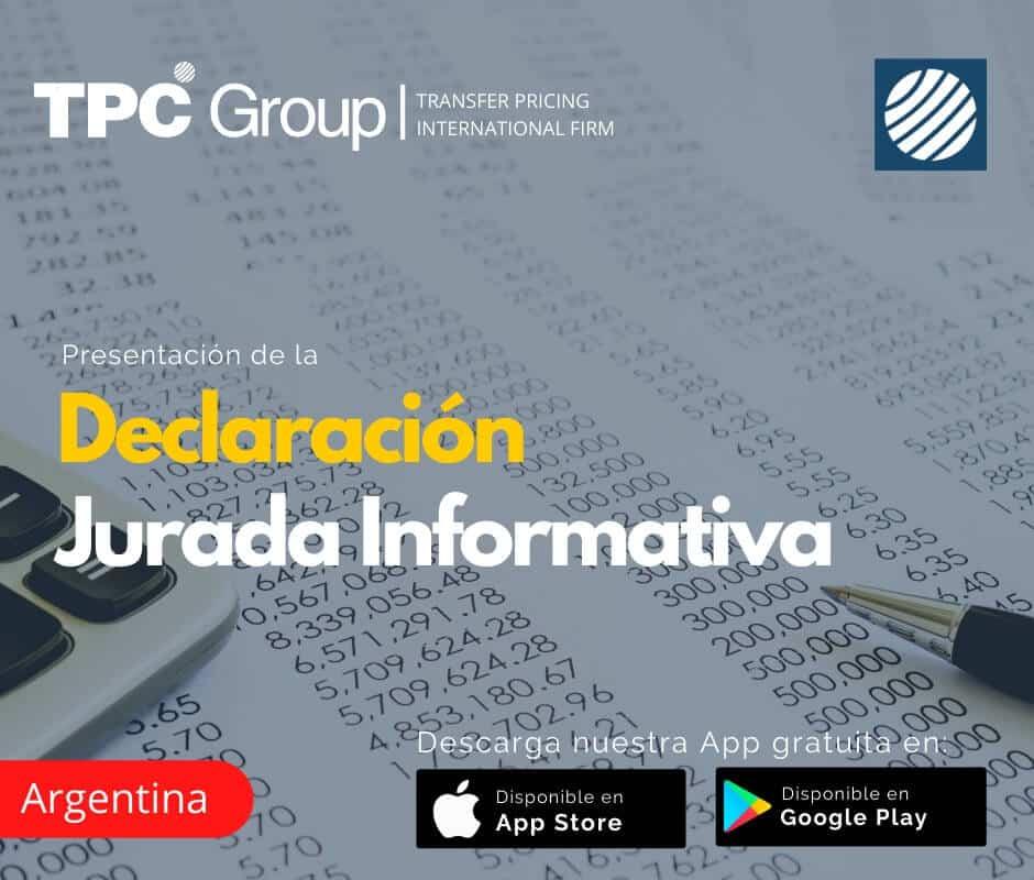 Presentación de la Declaración Jurada Informativa en Argentina