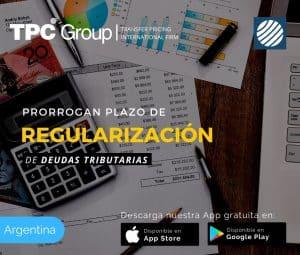 Prorrogan plazo de regularización de deudas tributarias en Argentina