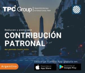 Reducen y postergan contribución patronal del periodo Junio 2020 en Argentina