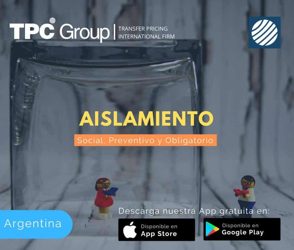 Aislamiento social, preventivo y obligatorio en Argentina