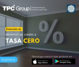 Extensión del beneficio de crédito a tasa cero en Argentina