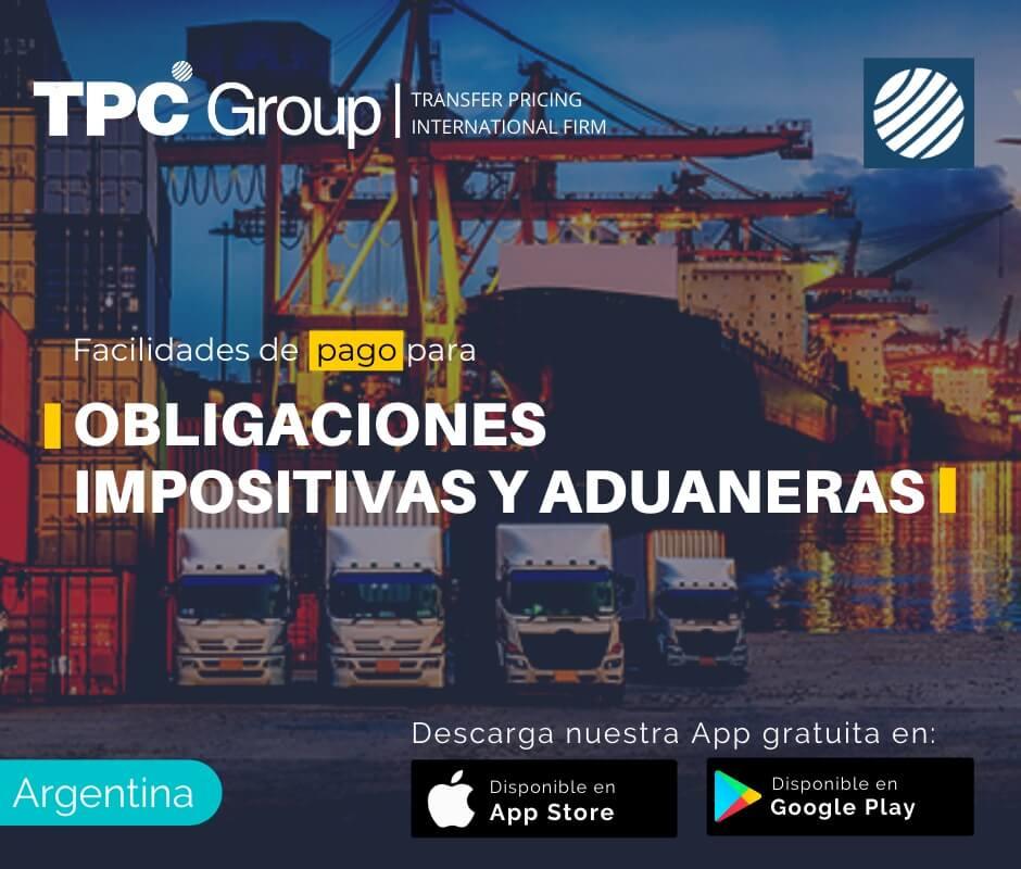 Facilidades de pago para obligaciones impositivas y aduaneras en Argentina