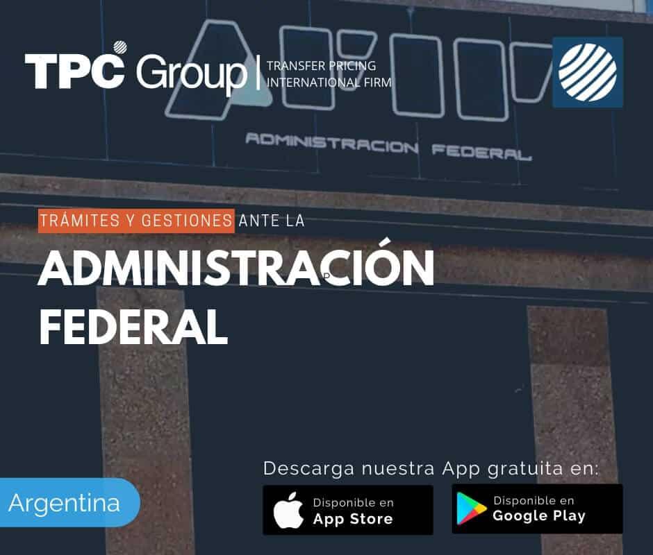 Trámites y gestiones ante Administración Federal en Argentina
