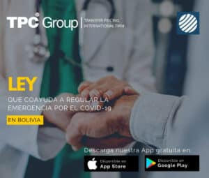 Ley que coayuda a regular la emergencia por el covid-19 en Bolivia
