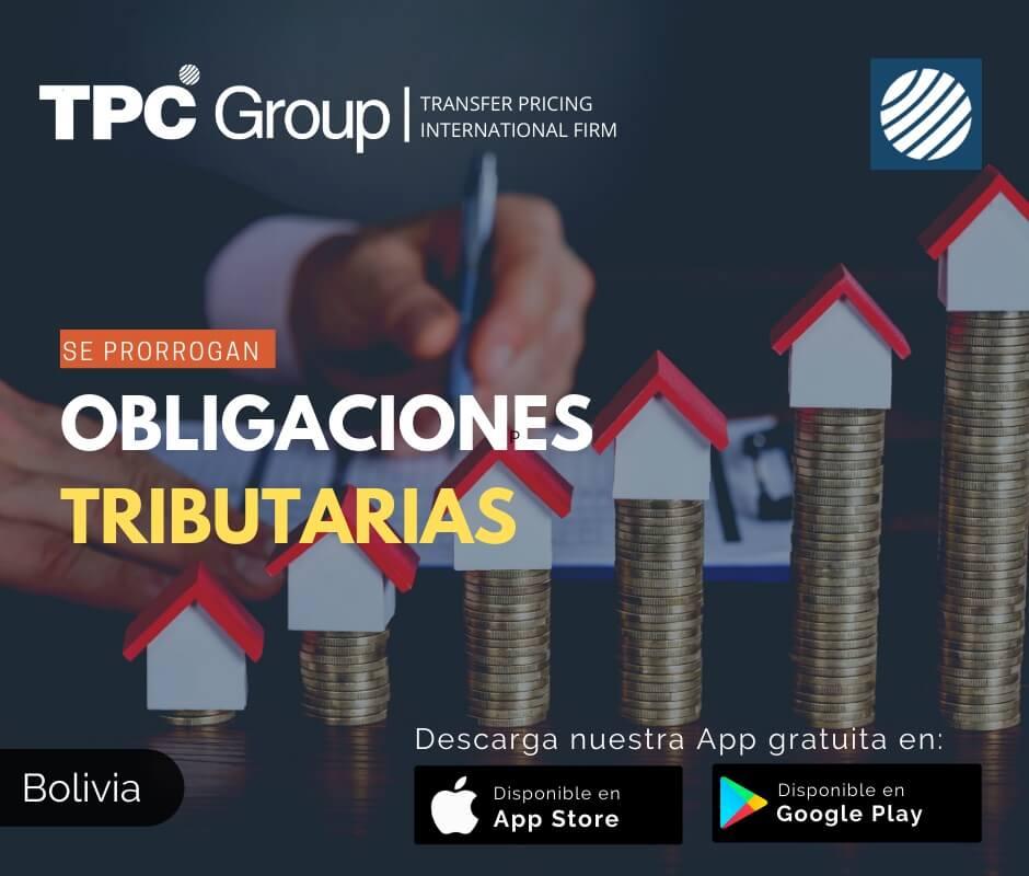 Se prrorogan Obligaciones Tributarias en Bolivia