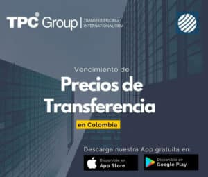 Vencimientos de Precios de Transferencia en COLOMBIA