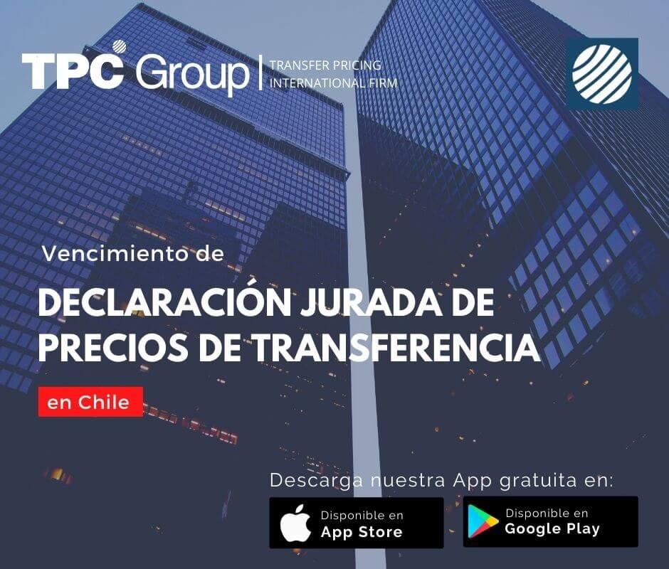Vencimiento de declaración jurada de precios de transferencia en Chile