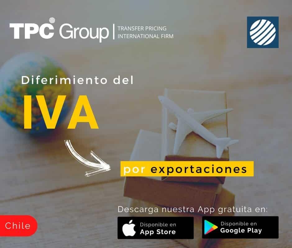 Diferiamiento del IVA por exportaciones en Chile