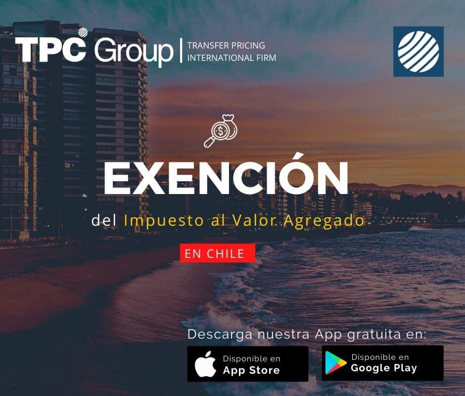 Exención del Impuesto Valor Agregado en Chile