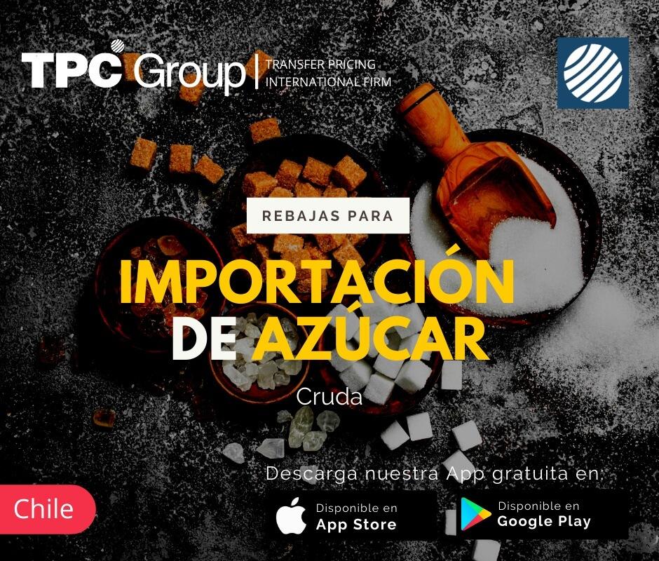 Rebajas para importación de azúcar cruda en Chile