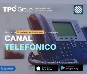 Habilitan trámites y actruaciones a través del canal canal telefónico en España