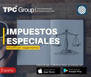 Modifican reglamento de los impuestos especiales en España