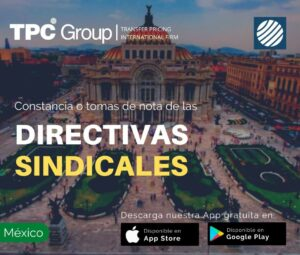 Constancia o tomas de notas de las directivas sindicales en México