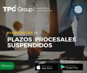Reanudación de plazos procesales suspendidos en México