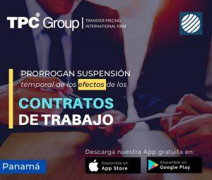 Prorrogan suspensión temporal de los efectos de los contratos de trabajo en Panamá
