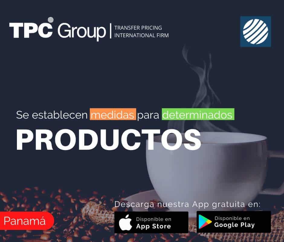 Se establecen medidas para determinados productos en Panamá