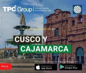 Aislamiento social en Cusco y Cajamarca en Perú